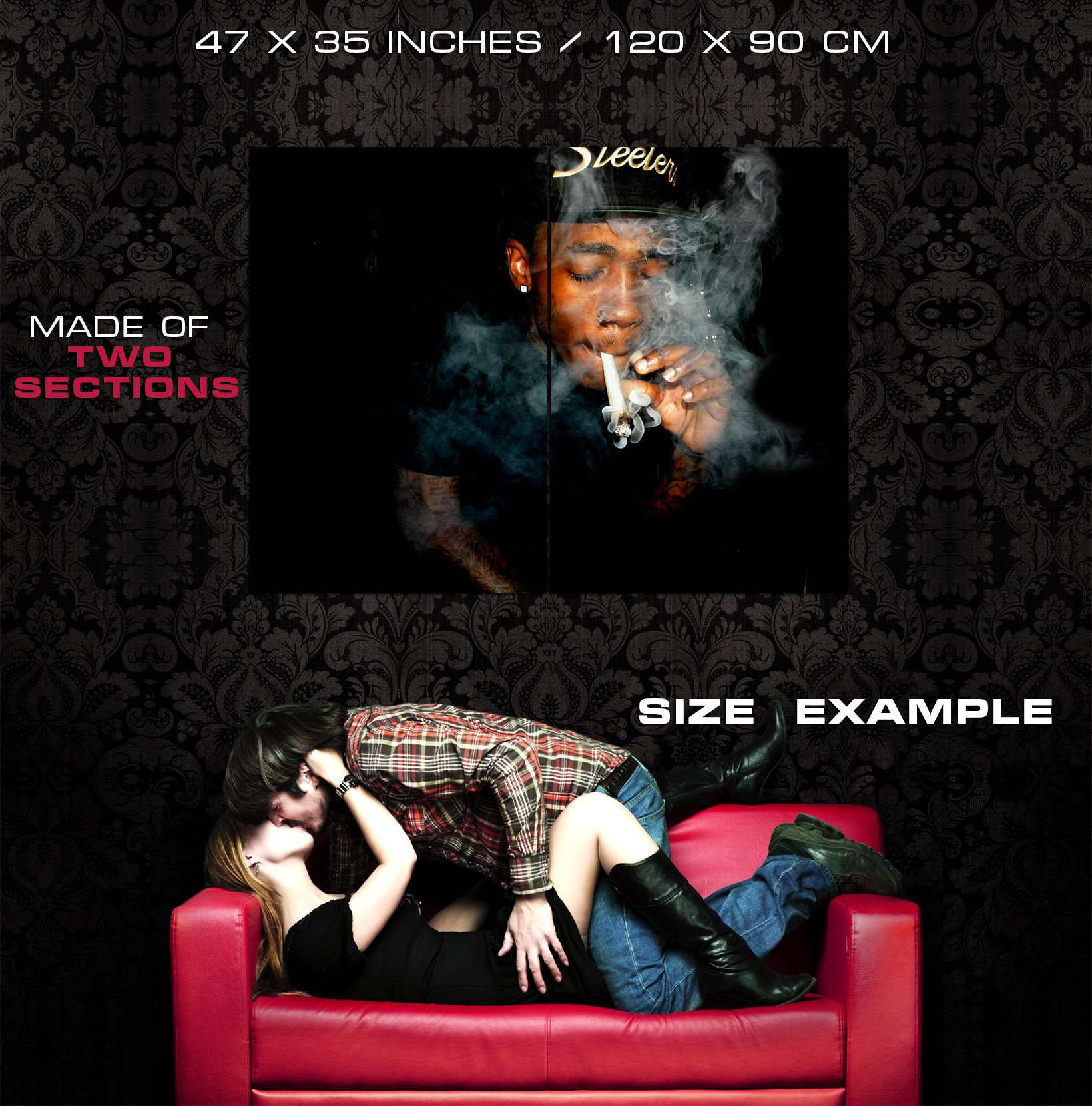 Dizzy Wright Smoke Smoke Smoke Rapper Rap Hip-Hop Music Giant Wall Print POSTER 0be7de
