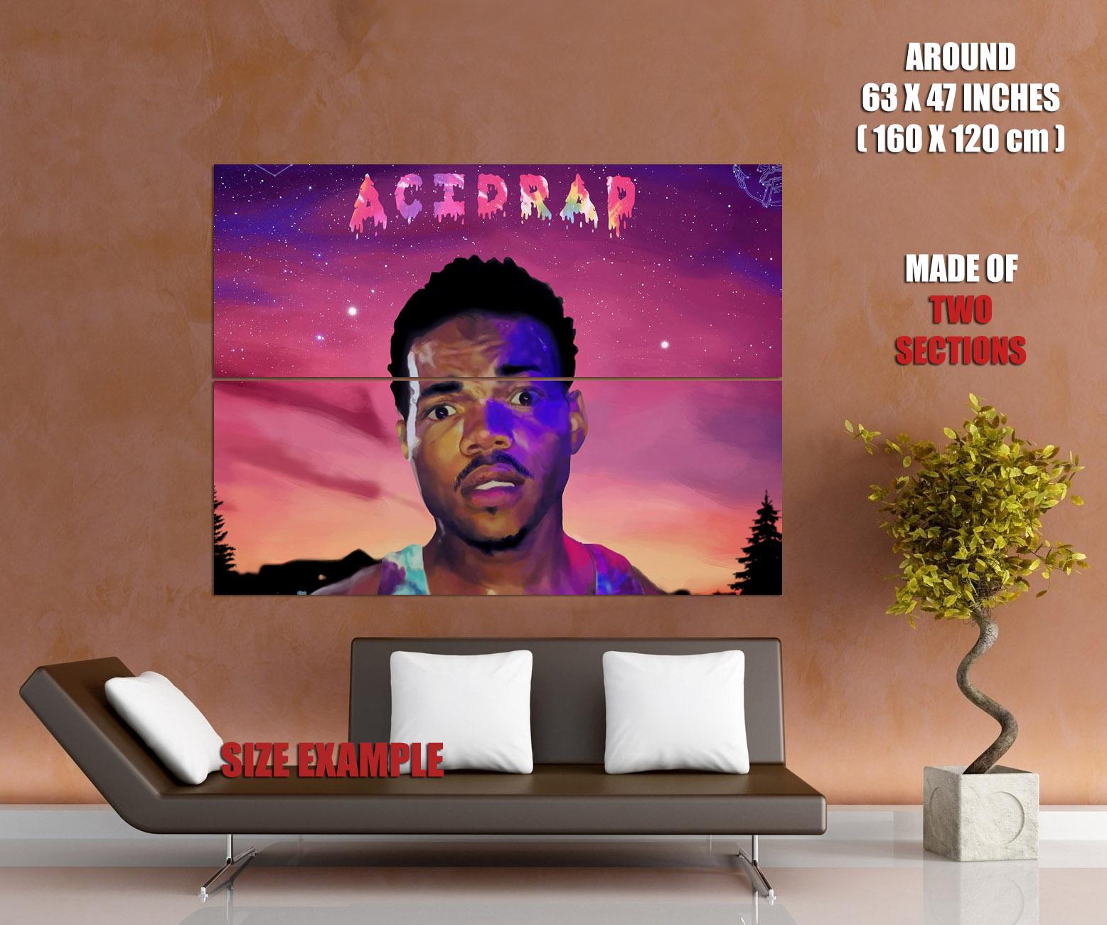 Chance The Rapper Acid Rap Art Hip