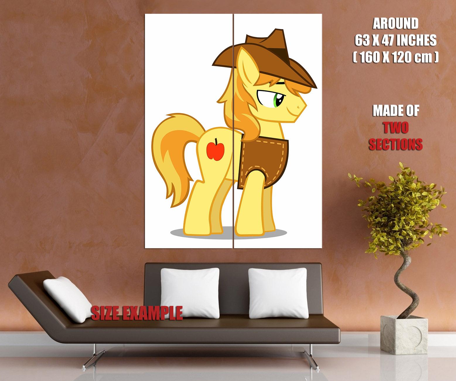 Braeburn My Little Pony Friendship Is Magic Cute Giant Wall Print ...
