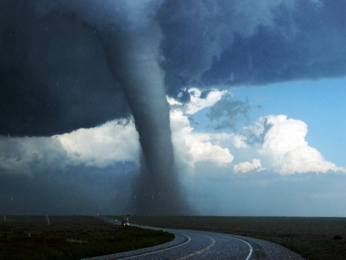 Image Is Loading Giant Tornado Road Storm Twister Cyclone HUGE GIANT