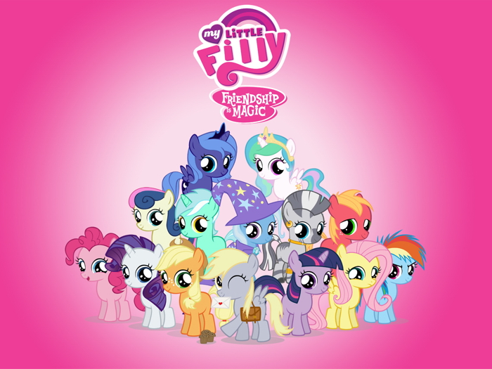 characters my little pony friendship is magic cute art giant wall