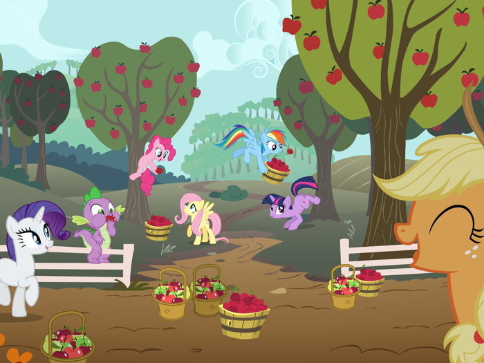 Characters Funny My Little Pony Friendship Is Magic Giant Wall Print POSTER