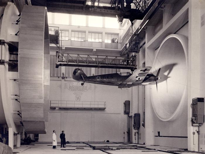 Messerschmitt Bf 109 Airplane 1935 Rare Old Retro BW Giant Wall Print POSTER
