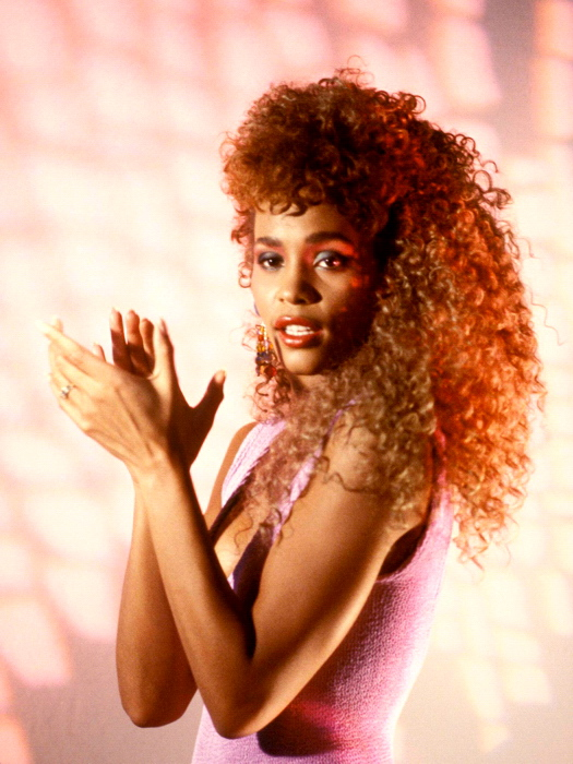 Whitney Houston Rare Young Beautiful Hot Retro Singer Giant Wall Print POSTER