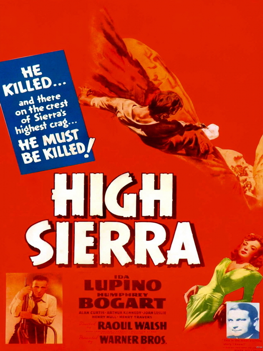 High Sierra 1941 Retro Classic Movie Vintage Giant Wall Print POSTER