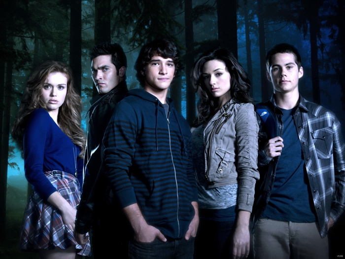 Teen Wolf Characters Cast Tv Series Giant Print POSTER Plakat
