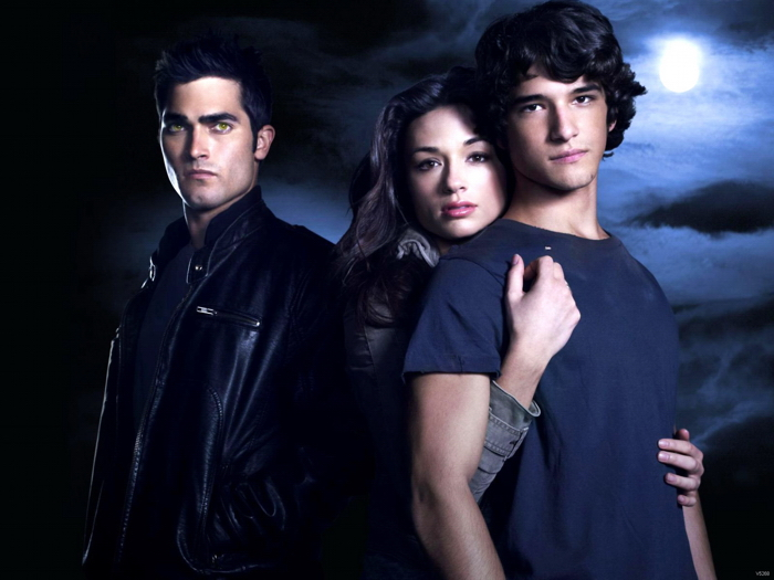 Teen Wolf Characters Tv Series Giant Print POSTER Plakat