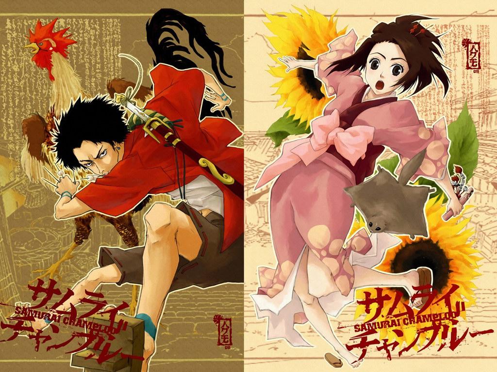 V7443 Samurai Champloo Fuu Kasumi Mugen Characters Anime Art PRINT POSTER AU