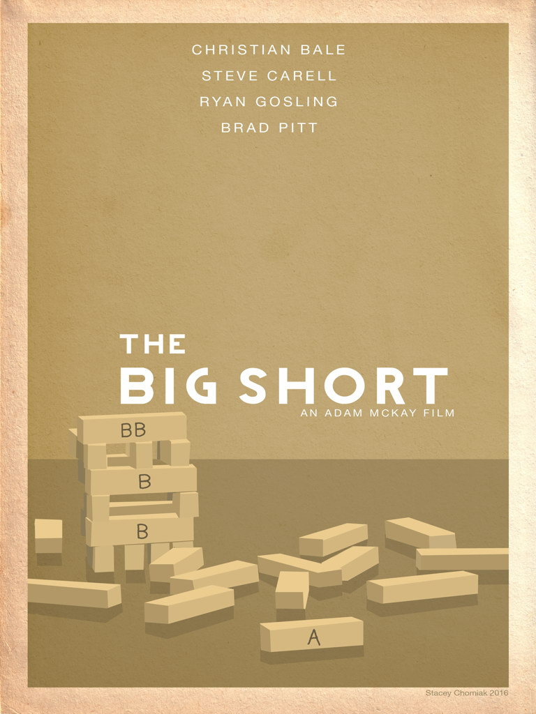 V8441 The Big Short Rare Limited Cool New Movie Film Art WALL PRINT POSTER CA